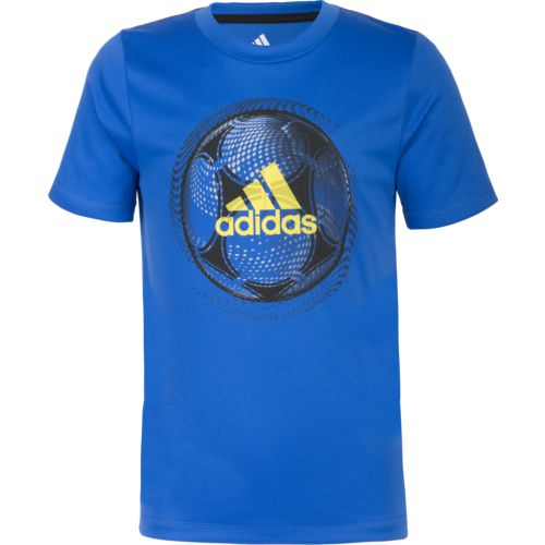 adidas Boys' climalite Optic Sport Ball T-shirt