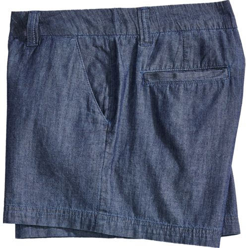 Display product reviews for BCG Women's Roughin' It Chambray Shorty Short
