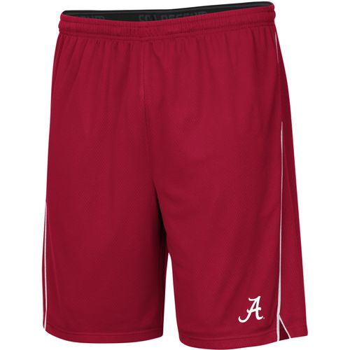 Colosseum Athletics Men's University of Alabama Embroidered Mesh Shorts