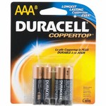 Duracell Coppertop AAA Batteries 8-Pack - view number 1