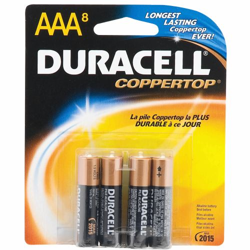 Duracell Coppertop AAA Batteries 8-Pack