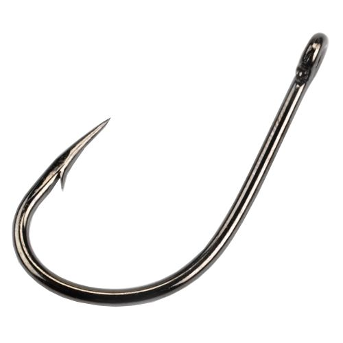 Mustad O'Shaughnessy 3X Live Bait Single Hooks 4/0, 25-Pack