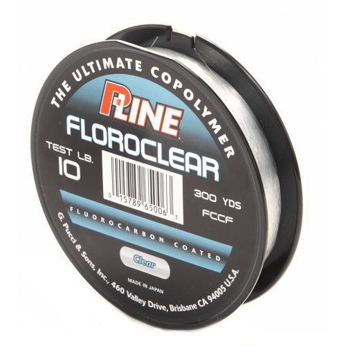 P-Line® Floroclear 10 lb. - 300 yards Fluorocarbon Fishing Line