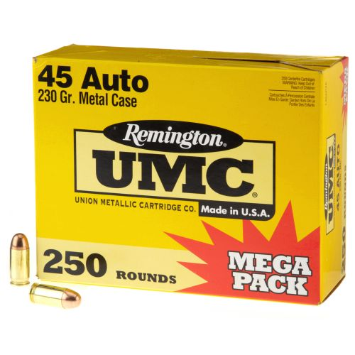 Remington UMC .45 Auto 230-Grain Centerfire Handgun Ammunition