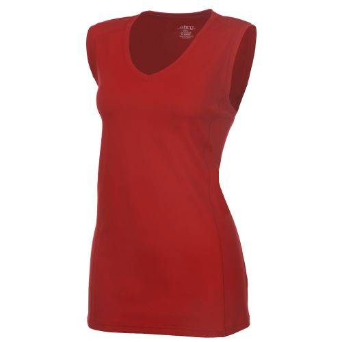 BCG™ Women's Basics 101 Performance V-Neck Muscle Shirt