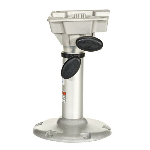 "Display product reviews for Attwood® LakeSport™ Manually Adjustable 2-3/8"" Pedestal with Seat Mount"