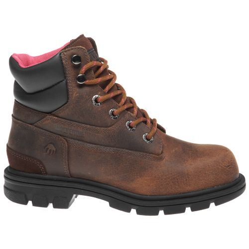 "Wolverine Women's Belle 6"" Steel Work Boots"