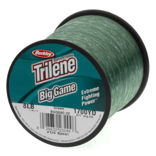 Image for Berkley® Trilene® Big Game® 8 lb. - 1,700 yards Monofilament Fishing Line from Academy