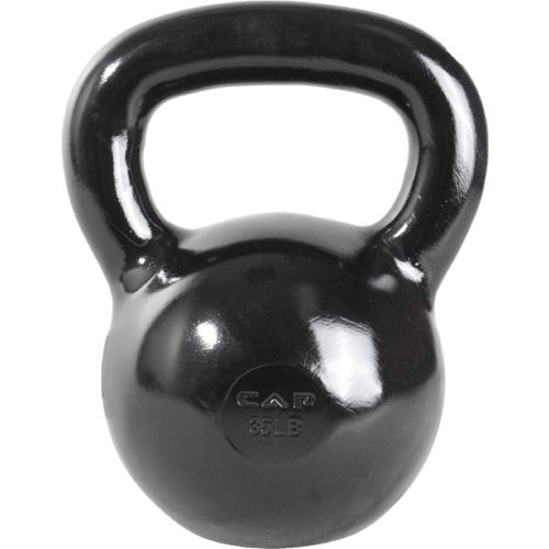 Display product reviews for CAP Barbell 35 lb. Cast Iron Kettlebell