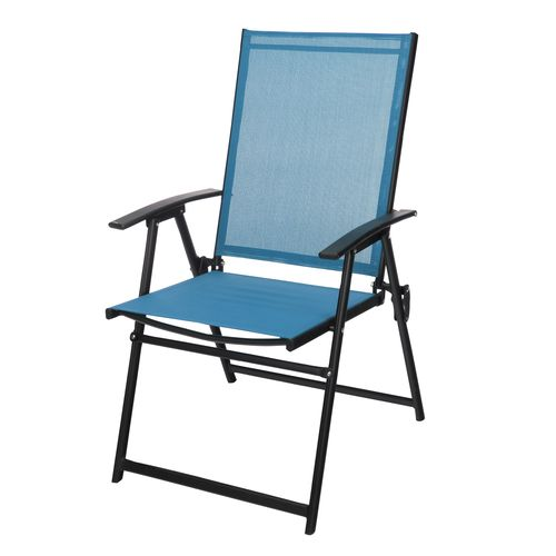 mosaic folding sling chair academy