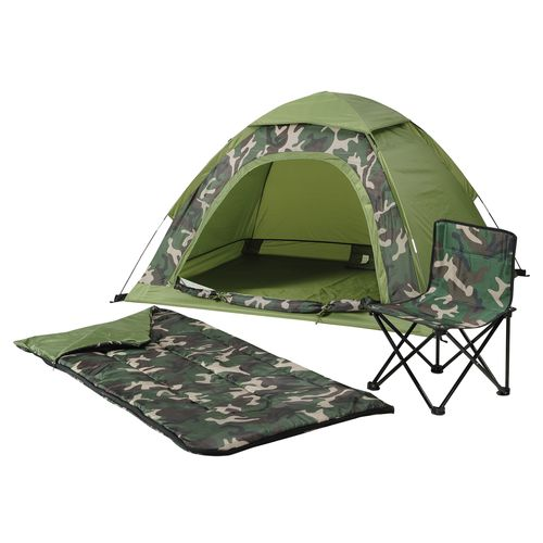 Timber Creek Boys' Jr. Dome Tent Combo
