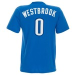 adidas™ Men's Russell Westbrook #0 Game Time T-shirt