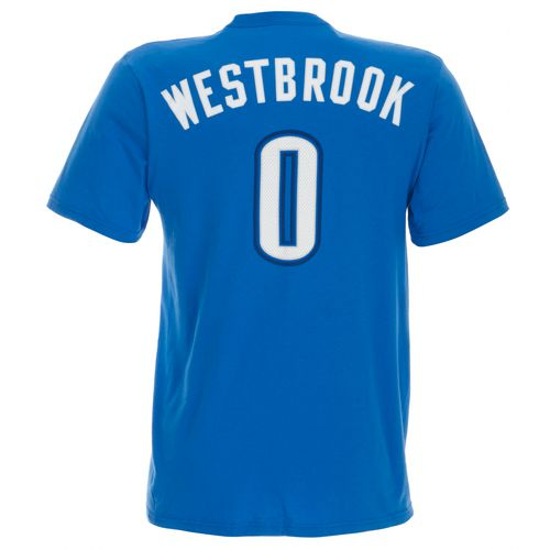 adidas Men's Russell Westbrook No. 0 Game Time T-shirt