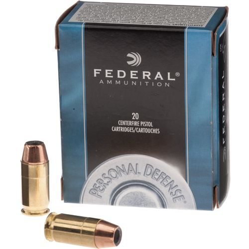 Image for Federal Premium® Personal Defense® .45 Automatic 185-Grain Centerfire Pistol Ammunition from Academy