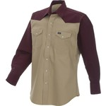 Wrangler® Men's Colorblocked Work Shirt