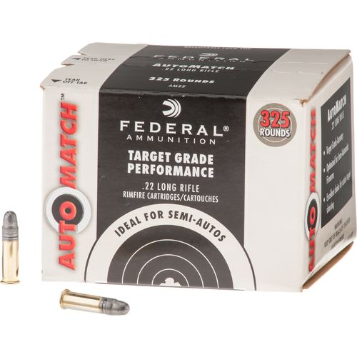 Display product reviews for Federal Premium® Champion™ AutoMatch .22 LR 40-Grain Rimfire Ammunition