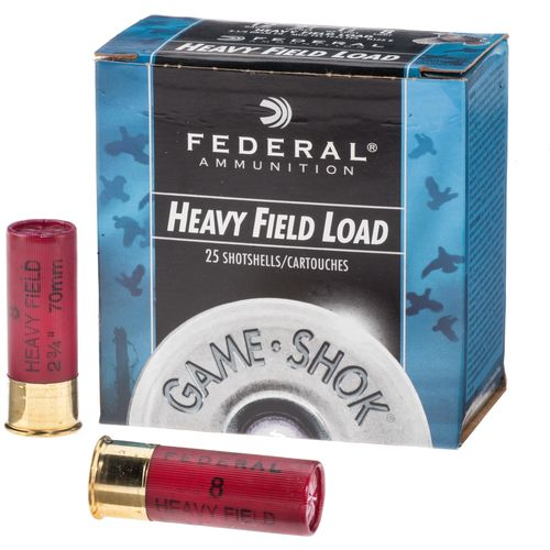 Federal Premium® Game-Shok® 12 Gauge Upland Heavy Field