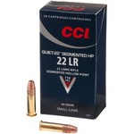 CCI® Quiet .22 LR 40-Grain Segmented Rimfire Rifle Ammunition