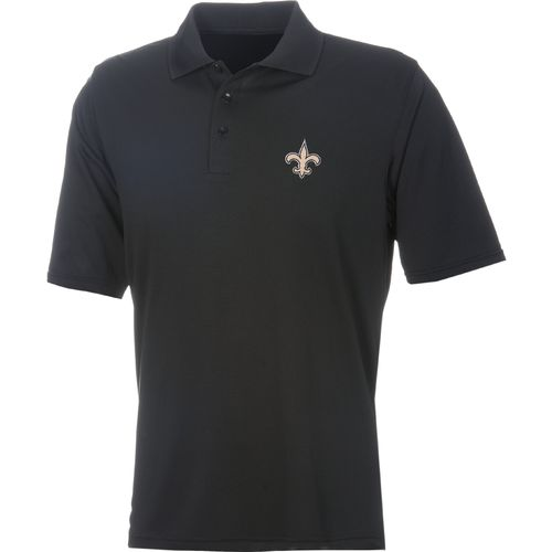 Antigua Men's New Orleans Saints Piqué Xtra-Lite Polo Shirt - view number 1