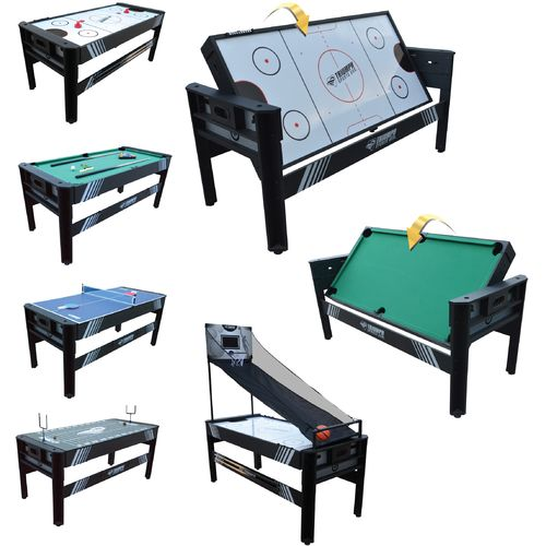 Triumph sports usa 5 in 1 6 39 rotating game table shop for Table 6 games