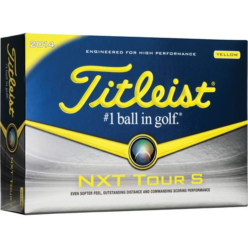 Image for Titleist NXT Tour Soft Yellow Golf Balls 12-Pack from Academy