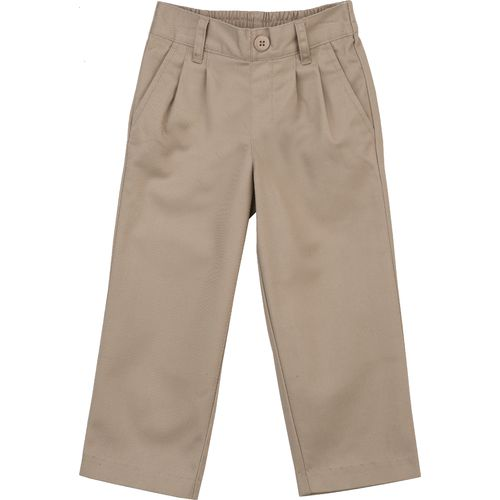 Austin Trading Co. Toddler Boys' Pleat Front Twill Uniform Pant - view number 1