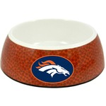 GameWear Denver Broncos Classic NFL Football Pet Bowl