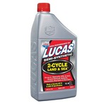 Lucas Oil 1 qt. TC-W3® Semisynthetic 2-Cycle Land & Sea Oil - view number 1