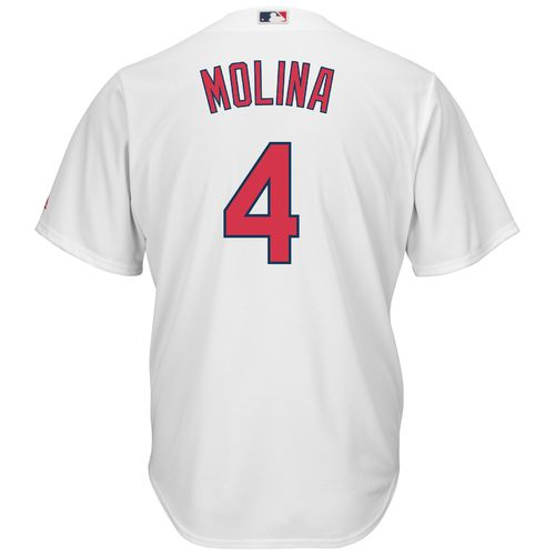 Majestic Men's St. Louis Cardinals Yadier Molina #4 Cool Base® Replica Jersey