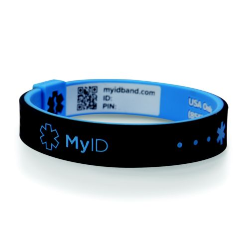 MyID™ Adults' Sport Safety and Medical ID Bracelet