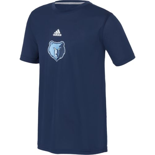 adidas™ Kids' Memphis Grizzlies Pregame Graphic Home T-shirt