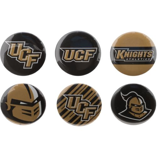 WinCraft University of Central Florida Round Buttons 6-Pack