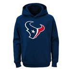 NFL Boys' Houston Texans Chrome Performance Hoodie