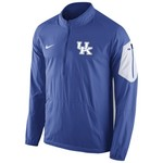 Nike Men's University of Kentucky Lockdown 1/2 Zip Jacket