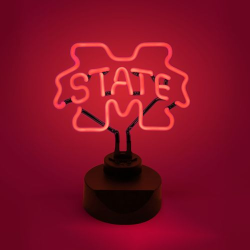 AES Optics Mississippi State University Neon Table Light