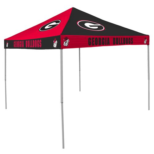 Logo University of Georgia Straight-Leg 9 ft x 9 ft Checkerboard Tent