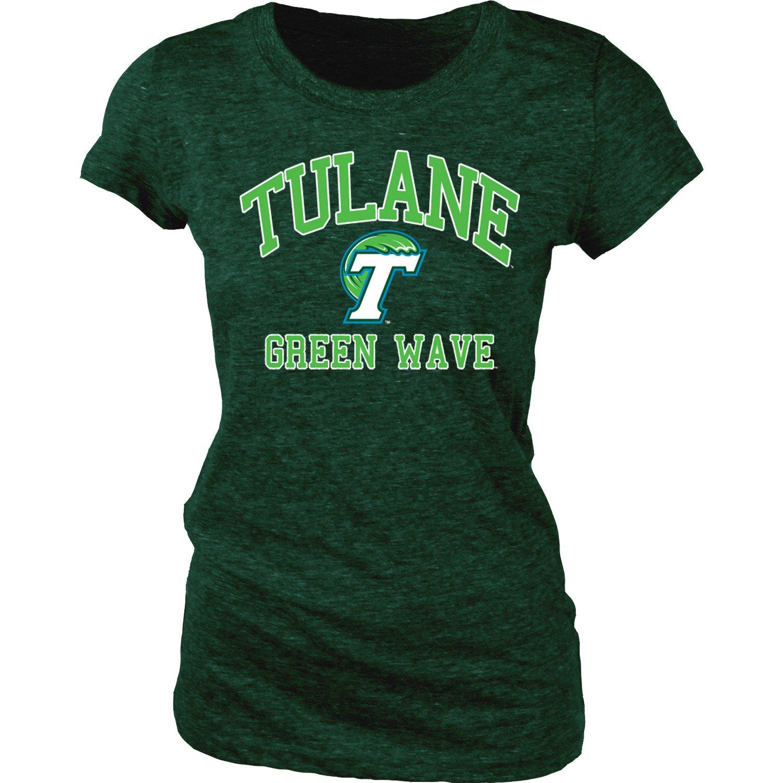 Blue 84 Juniors' Tulane University Triblend T-shirt