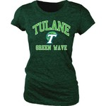 Blue 84 Juniors' Tulane University Triblend T-shirt