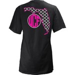 Three Squared Juniors' University of Central Florida Quatrefoil State Monogram T-shirt