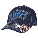 adidas™ Adults' Oklahoma City Thunder Team Nation Ball Cap