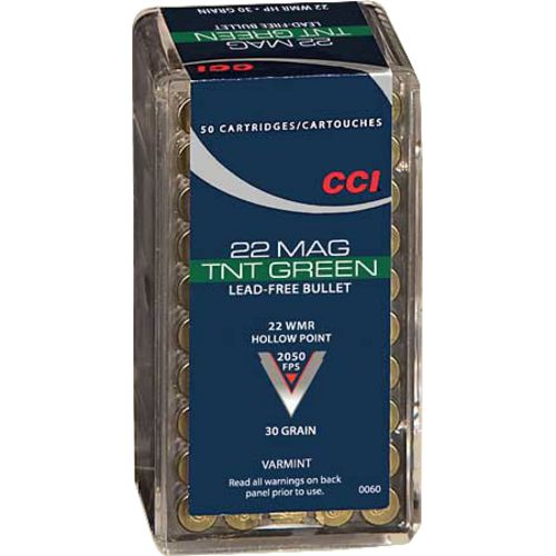 Display product reviews for CCI® TNT Green® Varmint .22 Win Magnum 30-Grain Rimfire Ammunition