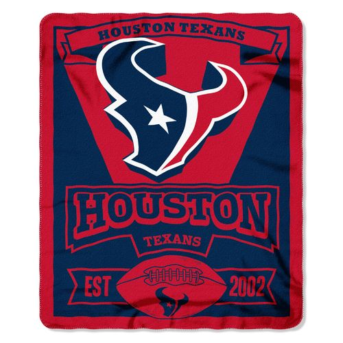 The Northwest Company Houston Texans Marquee Fleece Throw