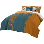 The Northwest Company Miami Dolphins Full-Size Comforter and Sham Set