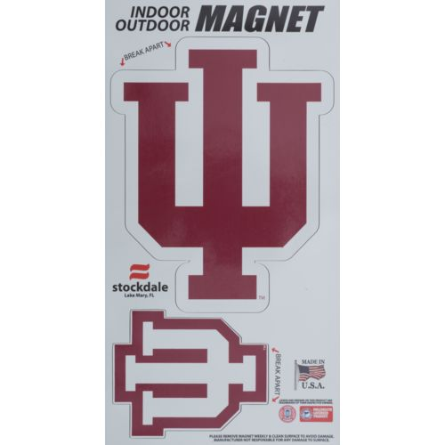Stockdale Indiana University Logo Magnets 2-Pack