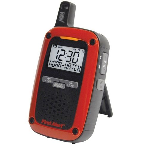 First Alert Portable AM/FM Digital Weather Radio
