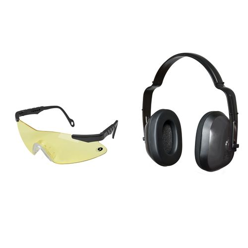 Mossy Oak Pachuta Shooting Glasses and Earmuffs Combo Pack