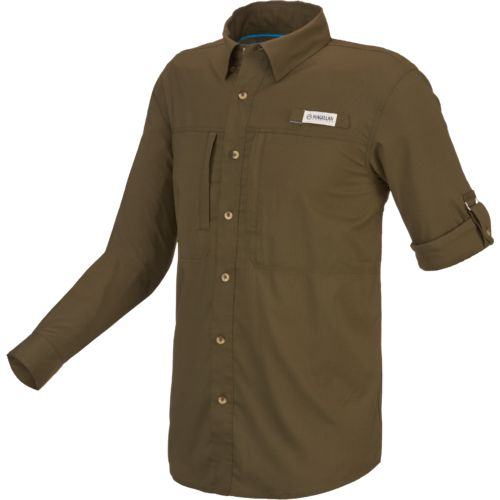 magellan outdoors men 39 s falcon bay long sleeve fishing