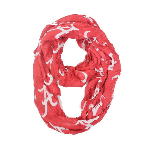 ZooZatz Women's University of Alabama Logo Infinity Scarf