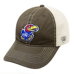 Top of the World Adults' University of Kansas Putty Cap - view number 1