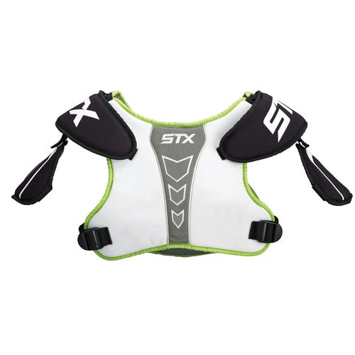 STX Boys' Cell 100 Lacrosse Shoulder Pads - view number 2